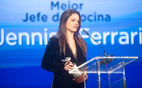 Premio Mejor Jefe de Cocina: Jennise Ferrari.