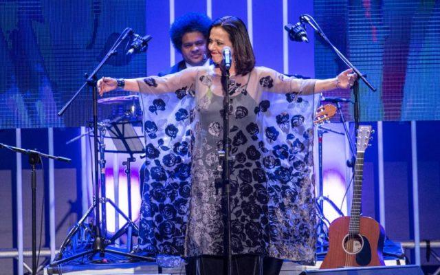 Premios Taburiente 2017, antes de recoger su galardón   Foto: Andrés Gutiérrez