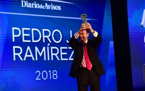 Pedro J. Ramírez, premio Taburiente 2018