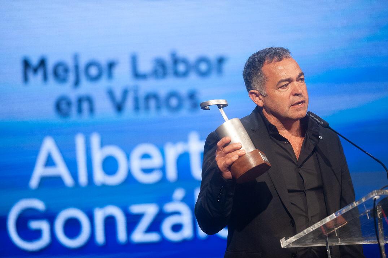 Premio Mejor Labor en Vinos: Alberto González